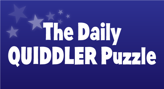 Daily Quiddler Puzzle