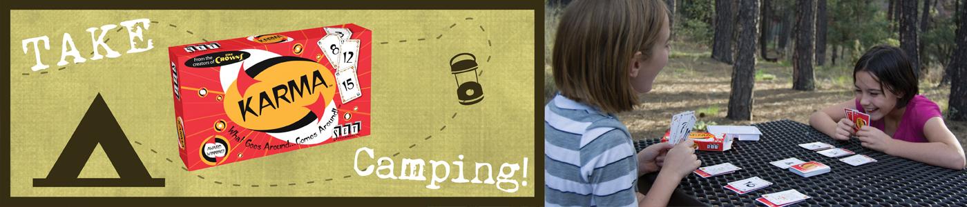 Take KARMA Camping!
